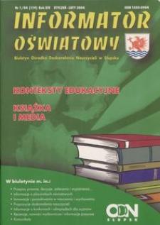 Informator Oświatowy, 2004, nr 1