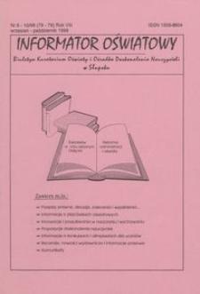 Informator Oświatowy, 1998, nr 9/10
