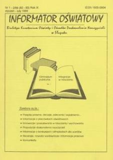 Informator Oświatowy, 1999, nr 1/2