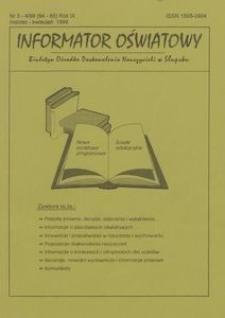 Informator Oświatowy, 1999, nr 3/4