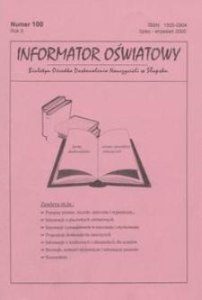 Informator Oświatowy, 2000, nr 7/9