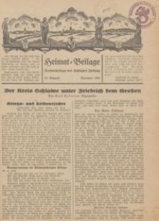 Heimat-Beilage, 20. Ausgabe