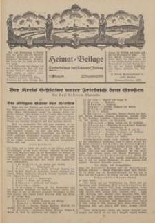 Heimat-Beilage, 21. Ausgabe