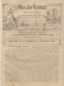 Aus der Heimat. Ernstes und Heiteres aus Vergangenheit und Gegenwart, 1909, Nr. 2