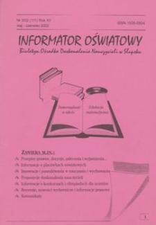 Informator Oświatowy, 2002, nr 3