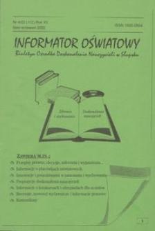 Informator Oświatowy, 2002, nr 4
