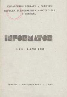 Informator, 1993, nr 1/2