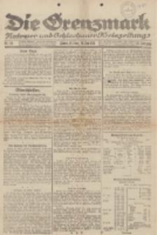 Die Grenzmark. Flatower und Schlochauer Kreiszeitung, 1921, Nr. 114