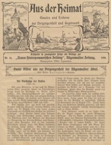 Aus der Heimat. Ernstes und Heiteres aus Vergangenheit und Gegenwart, 1910, Nr. 14
