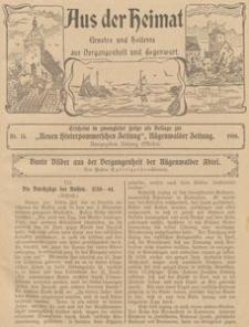 Aus der Heimat. Ernstes und Heiteres aus Vergangenheit und Gegenwart, 1910, Nr. 15