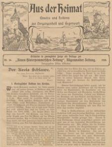 Aus der Heimat. Ernstes und Heiteres aus Vergangenheit und Gegenwart, 1910, Nr. 16