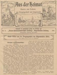 Aus der Heimat. Ernstes und Heiteres aus Vergangenheit und Gegenwart, 1910, Nr. 17