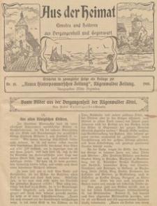 Aus der Heimat. Ernstes und Heiteres aus Vergangenheit und Gegenwart, 1910, Nr. 18