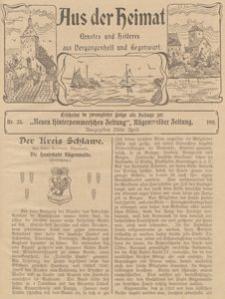 Aus der Heimat. Ernstes und Heiteres aus Vergangenheit und Gegenwart, 1911, Nr. 23