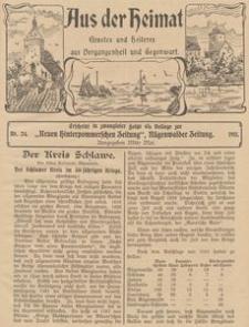 Aus der Heimat. Ernstes und Heiteres aus Vergangenheit und Gegenwart, 1911, Nr. 24