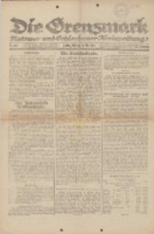 Die Grenzmark. Flatower und Schlochauer Kreiszeitung, 1921, Nr. 118