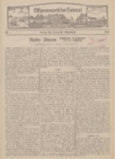 Ostpommersche Heimat. Beilage der Zeitung für Ostpommern, 1934, Nr. 1