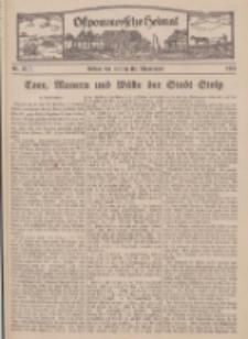 Ostpommersche Heimat. Beilage der Zeitung für Ostpommern, 1934, Nr. 3