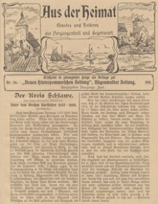 Aus der Heimat. Ernstes und Heiteres aus Vergangenheit und Gegenwart, 1911, Nr. 26