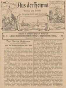 Aus der Heimat. Ernstes und Heiteres aus Vergangenheit und Gegenwart, 1911, Nr. 27