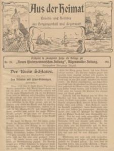 Aus der Heimat. Ernstes und Heiteres aus Vergangenheit und Gegenwart, 1911, Nr. 28