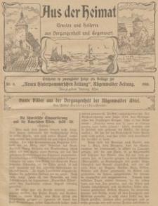 Aus der Heimat. Ernstes und Heiteres aus Vergangenheit und Gegenwart, 1910, Nr. 8