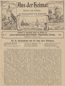 Aus der Heimat. Ernstes und Heiteres aus Vergangenheit und Gegenwart, 1910, Nr. 9