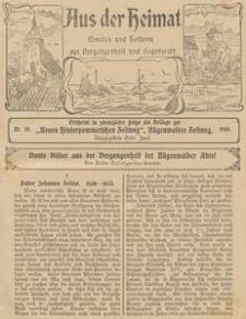 Aus der Heimat. Ernstes und Heiteres aus Vergangenheit und Gegenwart, 1910, Nr. 10