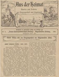 Aus der Heimat. Ernstes und Heiteres aus Vergangenheit und Gegenwart, 1910, Nr. 11