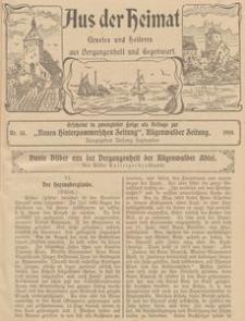 Aus der Heimat. Ernstes und Heiteres aus Vergangenheit und Gegenwart, 1910, Nr. 13