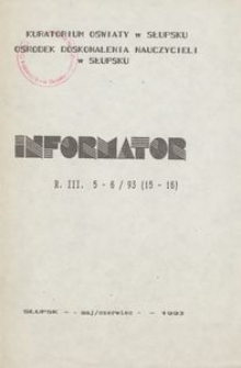 Informator, 1993, nr 5/6