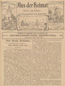 Aus der Heimat. Ernstes und Heiteres aus Vergangenheit und Gegenwart, 1911, Nr. 29