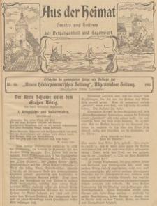 Aus der Heimat. Ernstes und Heiteres aus Vergangenheit und Gegenwart, 1911, Nr. 31