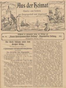 Aus der Heimat. Ernstes und Heiteres aus Vergangenheit und Gegenwart, 1911, Nr. 35