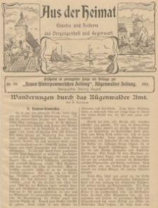 Aus der Heimat. Ernstes und Heiteres aus Vergangenheit und Gegenwart, 1911, Nr. 39