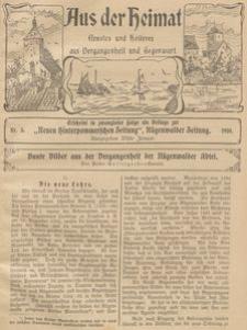 Aus der Heimat. Ernstes und Heiteres aus Vergangenheit und Gegenwart, 1910, Nr. 3