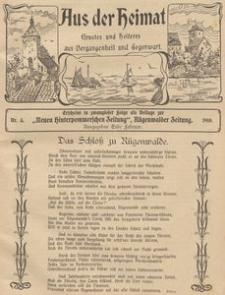Aus der Heimat. Ernstes und Heiteres aus Vergangenheit und Gegenwart, 1910, Nr. 5