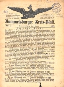 Rummelsburger Kreisblatt 1872