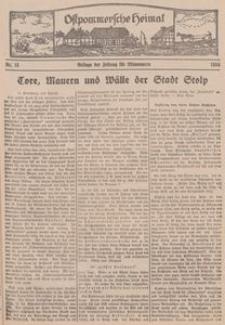 Ostpommersche Heimat. Beilage der Zeitung für Ostpommern, 1934, Nr. 15
