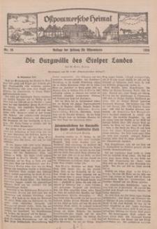Ostpommersche Heimat. Beilage der Zeitung für Ostpommern, 1934, Nr. 16