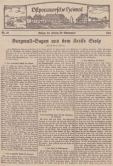 Ostpommersche Heimat. Beilage der Zeitung für Ostpommern, 1934, Nr. 20