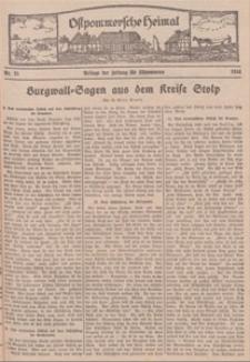 Ostpommersche Heimat. Beilage der Zeitung für Ostpommern, 1934, Nr. 21