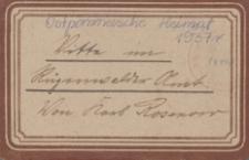 Ostpommersche Heimat. Beilage der Zeitung für Ostpommern, 1937, Nr. 36