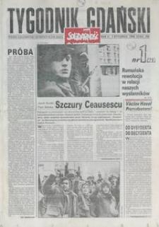 Tygodnik Gdański, 1990, nr 1