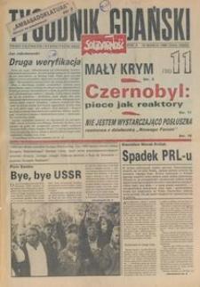 Tygodnik Gdański, 1990, nr 11