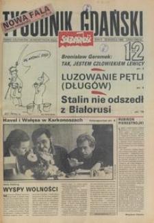 Tygodnik Gdański, 1990, nr 12