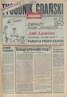 Tygodnik Gdański, 1990, nr 14