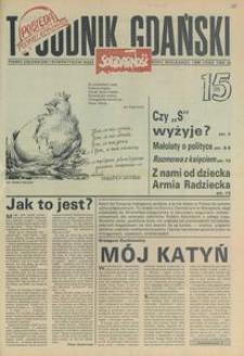 Tygodnik Gdański, 1990, nr 15