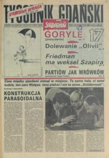 Tygodnik Gdański, 1990, nr 17