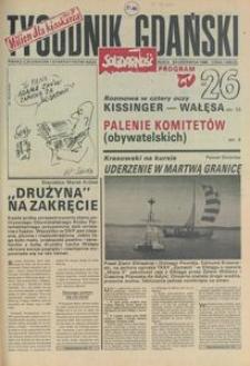 Tygodnik Gdański, 1990, nr 26